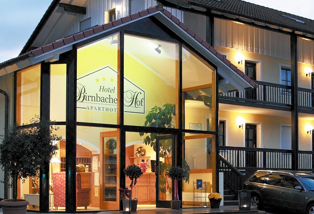 Birnbacher Hof, Neubau