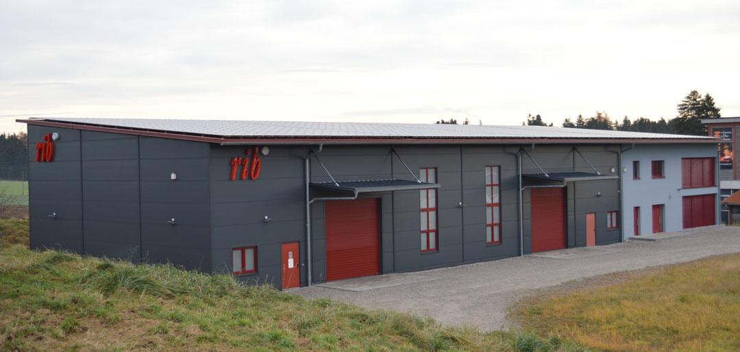 Produktionshalle mit Bürotrakt, Neubau